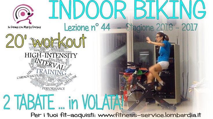 44 In sella con Marta Fovana TABATA workout ... in volata!