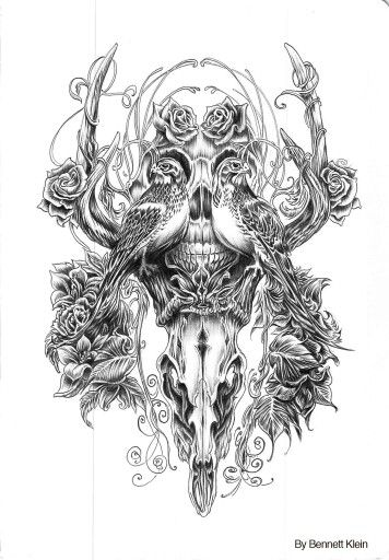 Coloring Pages For Adults Skull : 541 best coloring pages images on pinterest