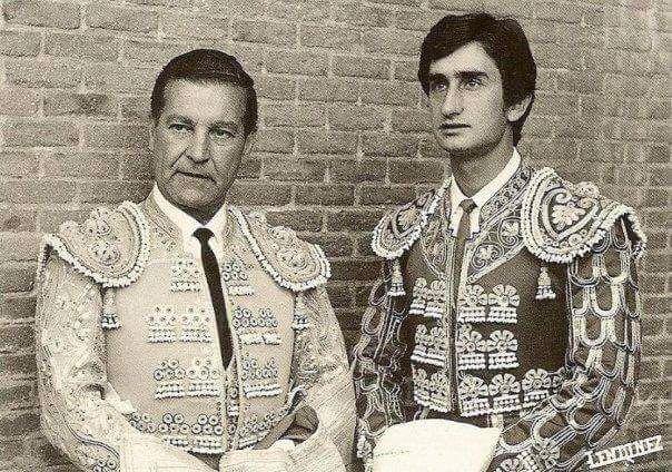 Antonio Bienvenida y Julio Robles