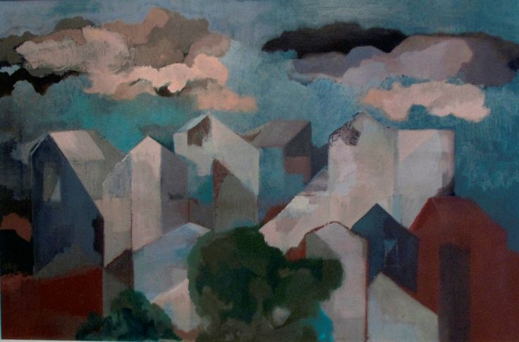 Cityscape | Oil on Canvas | 20 x 30 inches | £5,750 | From 1972