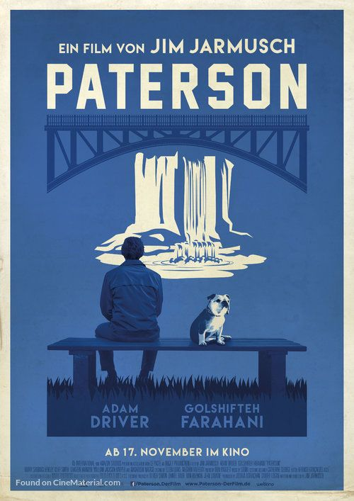 Paterson - German Movie Poster