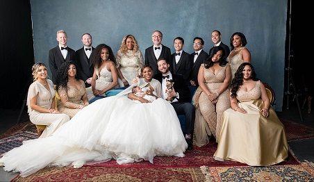 Wedding Photos Of Serena Williams & Alexis Out