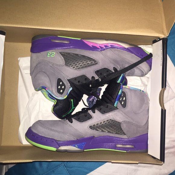 Jordan retro 5 Jordan bel air 5 size 6y worn a few times in great condition! Jordan Shoes Sneakers