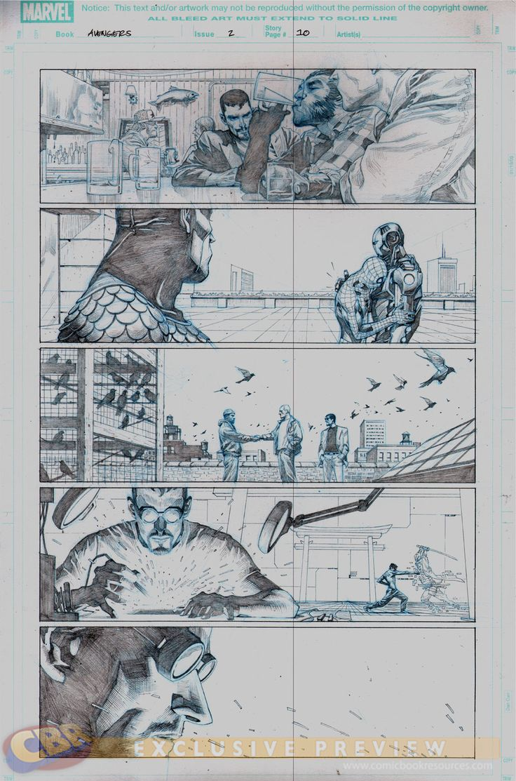 """""""Avengers #2"""" Preview 1"""