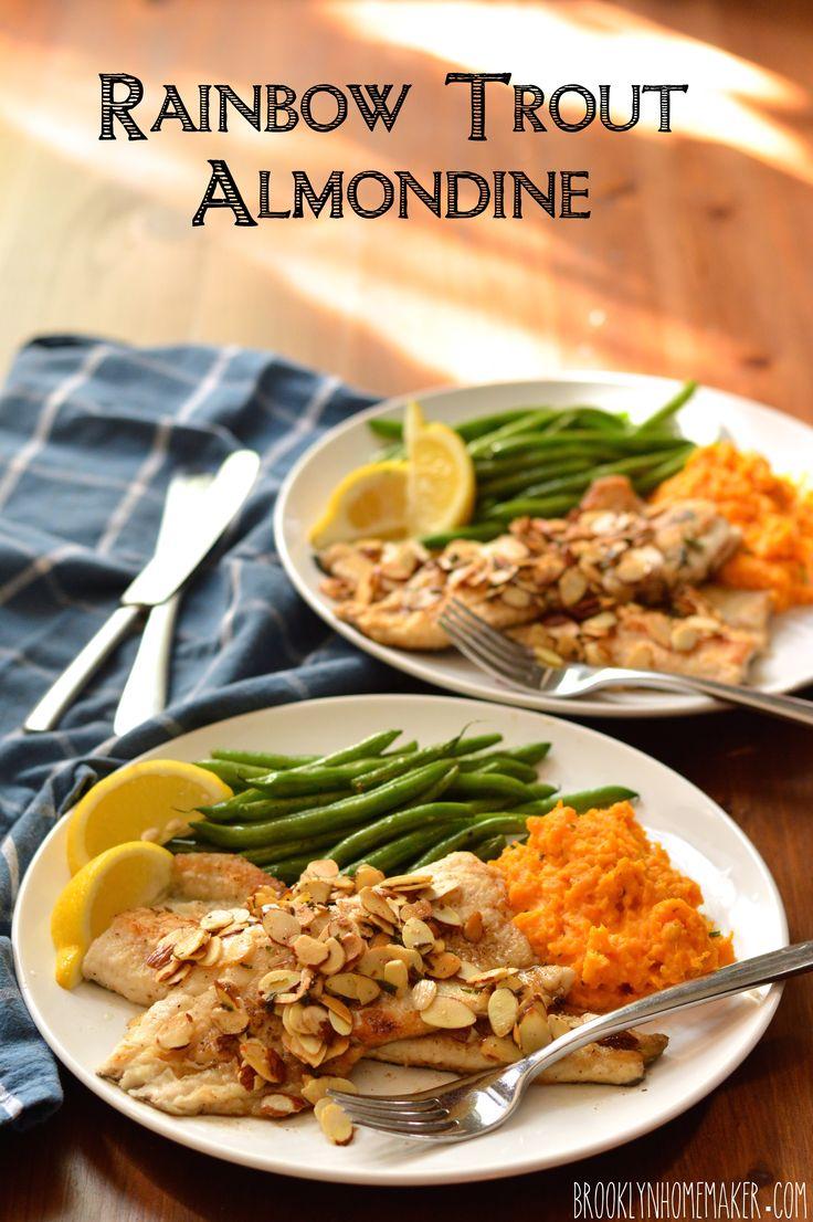 rainbow trout almondine | Brooklyn Homemaker