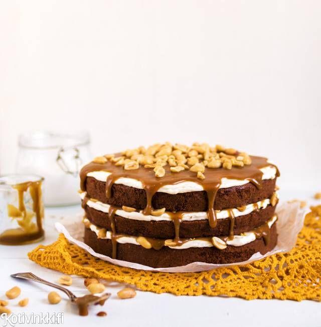 Suklainen kinuskikakku | Kotivinkki
