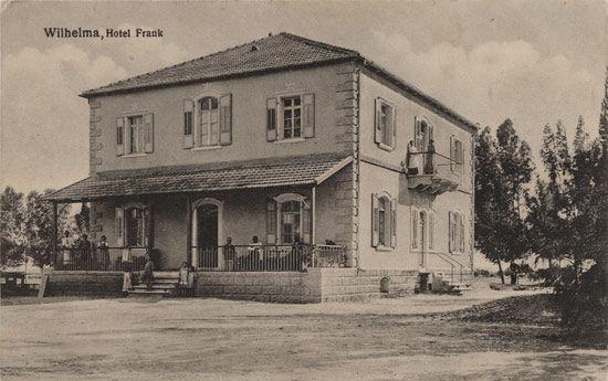 erman colony Wilhelma -Hotel Frank