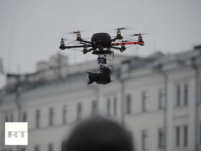 Ridus agency's drone camera, drone journalism #Drones