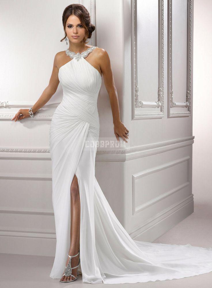 Gorgeous chiffon wedding dress with a stunning backdrop of #trimwork. #trim #moulding #interiorfinishings #fashion #inspiration