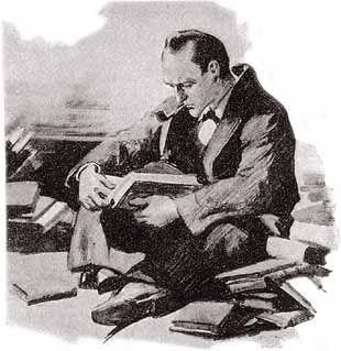 Frank Wiles' Sherlock Holmes artwork