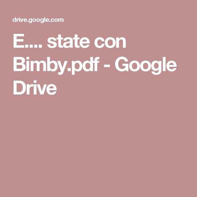 E.... state con Bimby.pdf - Google Drive