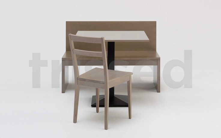 Cervia dining bench with removable and storage box