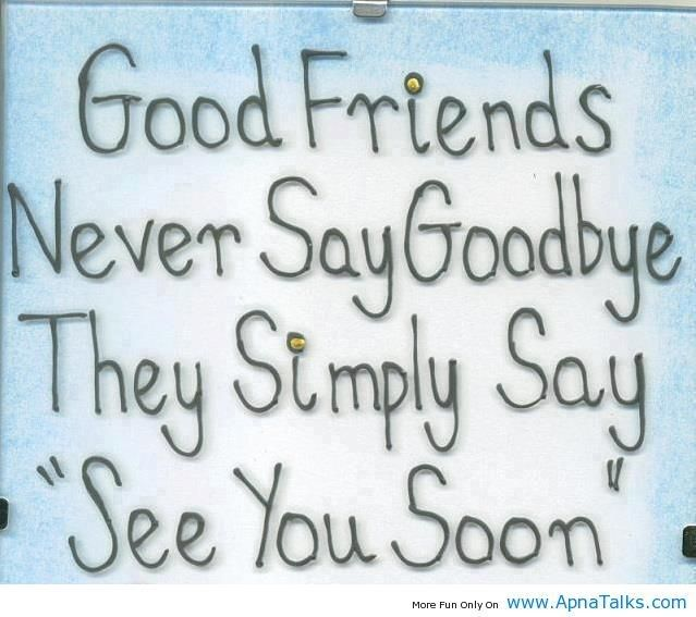 Bff farewell Goodbye quotes for friends