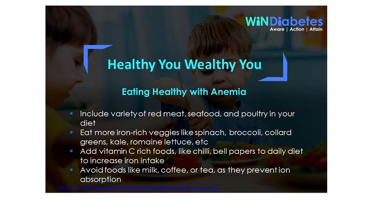 windiabetes shares nutrition tip healthy diet anemia iron deficiency red meat seafood poultry iron rich foods spinach broccoli collard