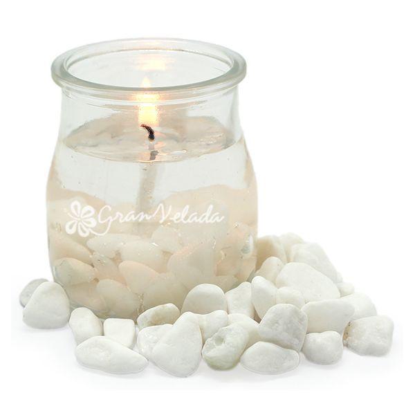 """Recipientes de cristal para hacer velas aromáticas, modelo """"David"""", ya disponibles en Gran Velada, tienda online."""
