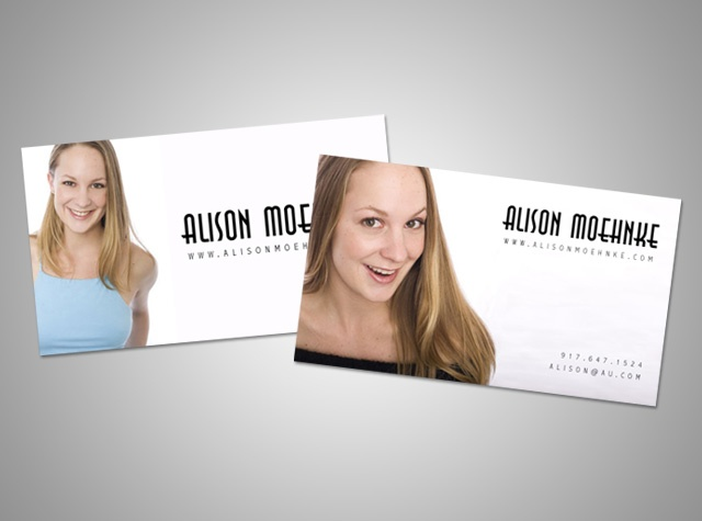 Moo Actor Business Cards Choice Image Card Design And Template Images