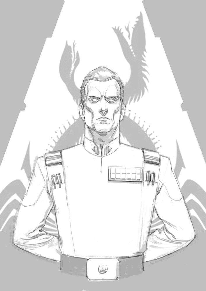 ArtStation - Grand Admiral Thrawn, Darren Tan