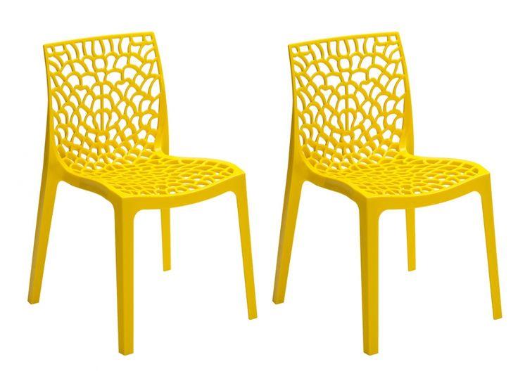 Stuhl 2er-Set Diadem - Gelb