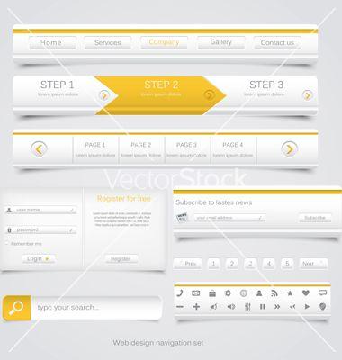 navigation menu design - Google Search