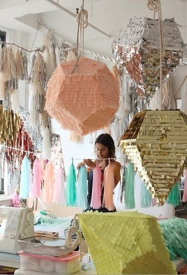 SHUT UP> HOLY CRAP. THIS IS what i want to DO with my life!!!! I will make Modern pinatas!!!!!!!! LOL Seriously!!!!