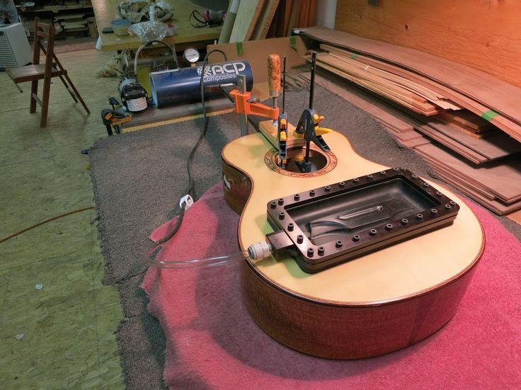how to make a guitar bridge clamp
