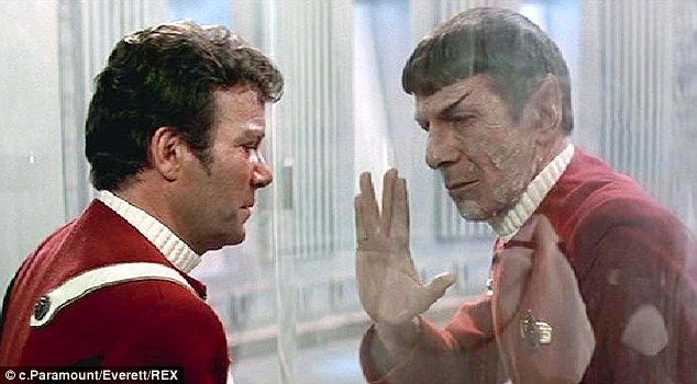 Bond: The pair (pictured during a scene of the 1982 film Star Trek II: Wrath of Khan) became close friends during filming and remained friends until Nimoy's tragic passing