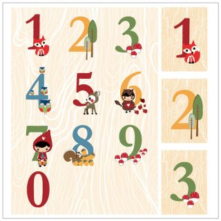 Learn to count in a fun and informal manner with these cute little woodland creatures. Pack of 10 cards comes complete with little pegs and string.