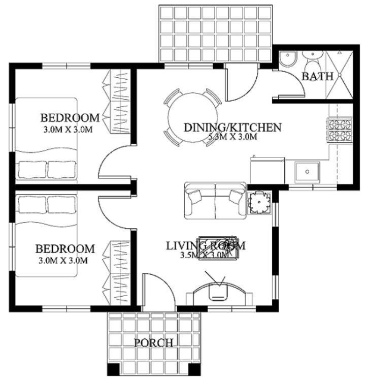plano de casa economica