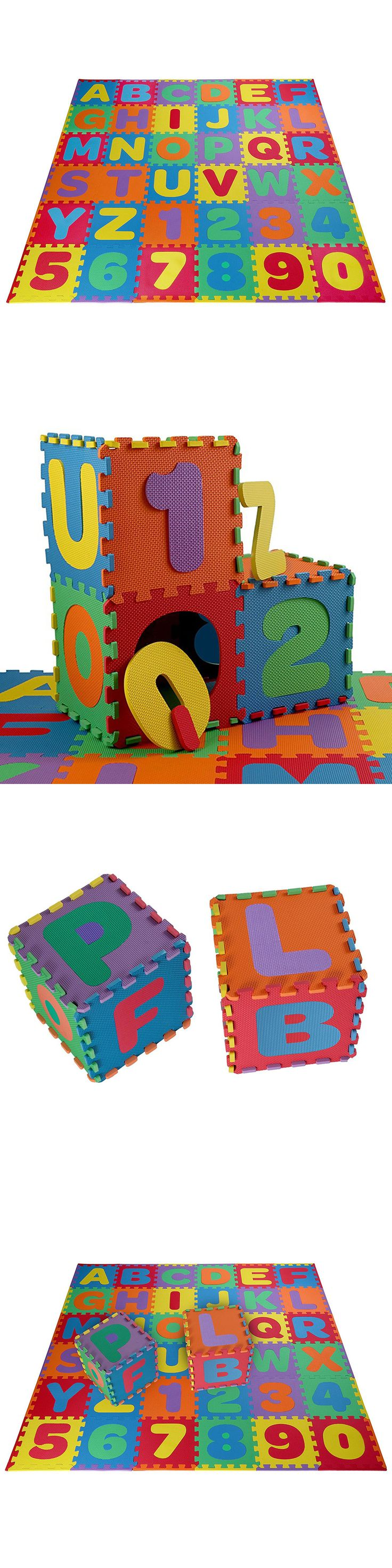 Baby Gyms and Play Mats 19069: Kids Foam Floor Puzzle Play Mat Gym Toy 36 Pcs Abc Numbers Baby Toddler Playmat -> BUY IT NOW ONLY: $39.89 on eBay!