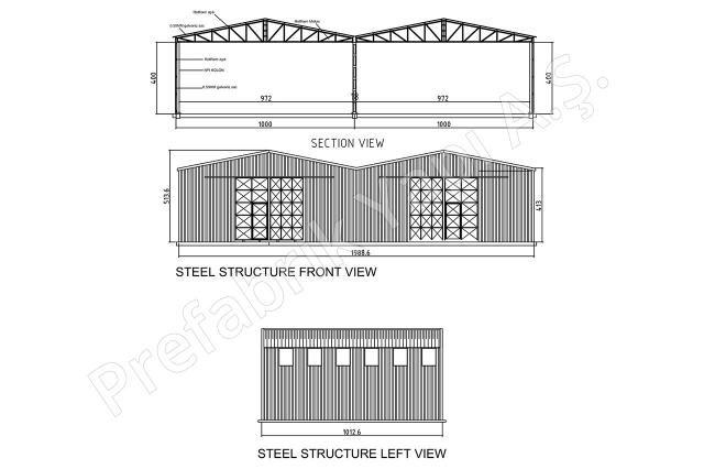 Çelik Yapı 200 m2