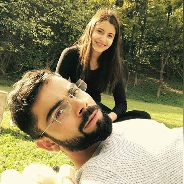 Do You Know Kohli Delete This Candid Pic of Anushka From His Twitter Timeline