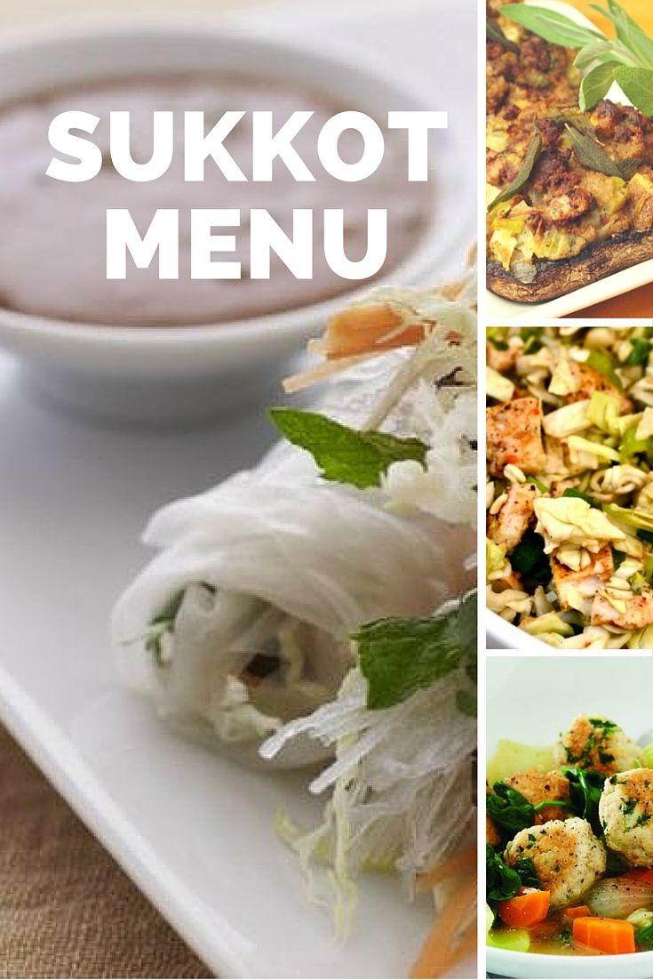 Healthy and easy sukkot recipes!