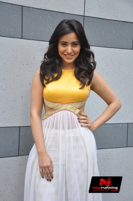 Neha Sharma at Press Conference of Lakme Fashion Week 2014