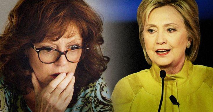 Susan Sarandon: Clinton Is More Dangerous Than Trump