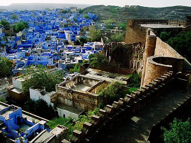 Blue City, India