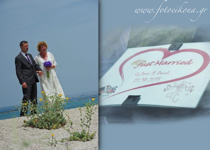 Love never gets old. Wedding photography on a beautiful beach #Lefkas #Ionian #Greece #wedding #weddingdestination #invitation Eikona Lefkada Stavraka Kritikos