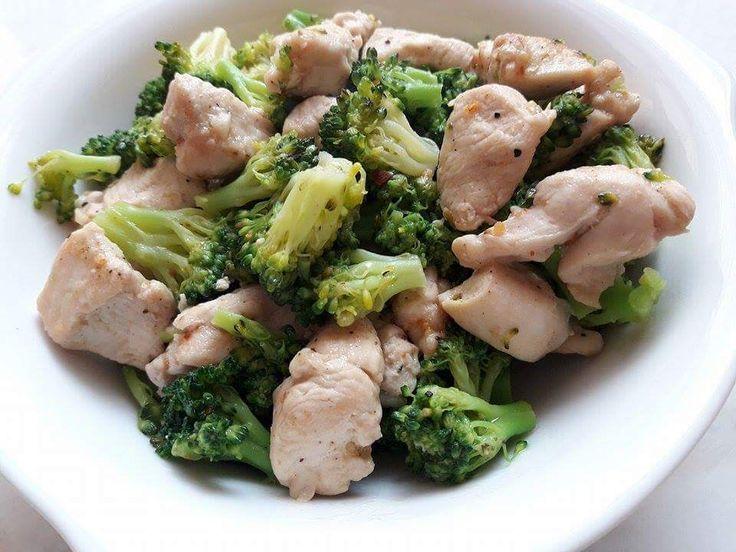 Pollo e broccoli