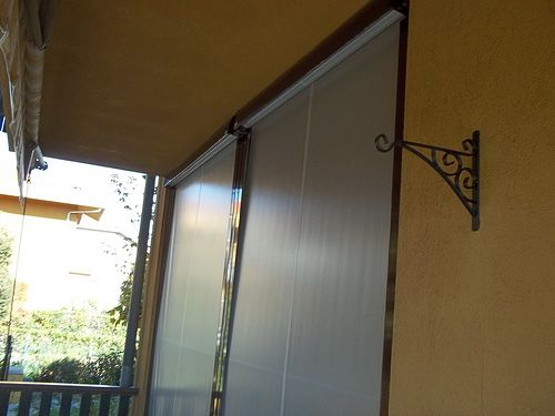 Tenda veranda invernale ermetica con frangivento e tessuto VINITEX retinato antingiallimento Torino www.mftendedasoletorino (5)