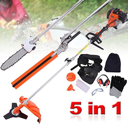 PanelTech 5 in 1 52CC Brush Cutter Hedge Trimmer Pruning Chainsaw Grass Trimmer and Extension Pole For Sale https://bestlawnmowersreview.info/paneltech-5-in-1-52cc-brush-cutter-hedge-trimmer-pruning-chainsaw-grass-trimmer-and-extension-pole-for-sale/