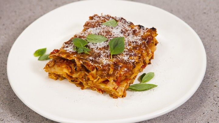Curly Lasagna - Recipe from Everyday Gourmet with Justine Schofield