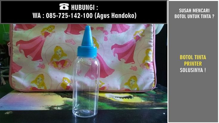WA 0857 2514 2100, Botol Tinta Printer 100ml, Botol Tinta Jakarta, Botol Tinta Kerucut Jakarta  1.Terbuat dari bahan hdpe Plastik yang berkualitas. 2.Ada ukuran pas 100 ml. 3.Ada ukuran level tinta.  Harga Rp 1900 / Quantiti Nego  Silakan Order Sekarang !!!  Bpk. Agus Handoko WA 0857.25.142.100 PIN BB D71136C7  Dinaprinter  Spesialis Mekanik Printer Tinta Printer One Ink Alamat :  Norowangsan RT 04 RW 13 Jl. Temulawak 3 Kel. Pajang 57146 Kec. Laweyan, Kota Surakarta, Jawa Tengah - Indonesia