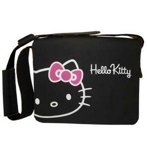 """Geanta Hello Kitty Neagra Laptop 15.6"""" - Huse"""