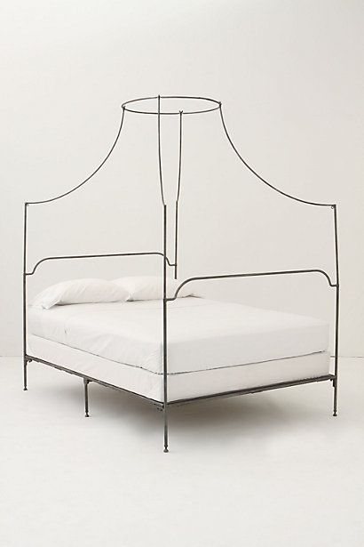 Italian Campaign Canopy Bed, King #anthropologie #AnthropologieEU #PinToWin