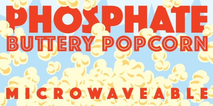 Phosphate™ font download