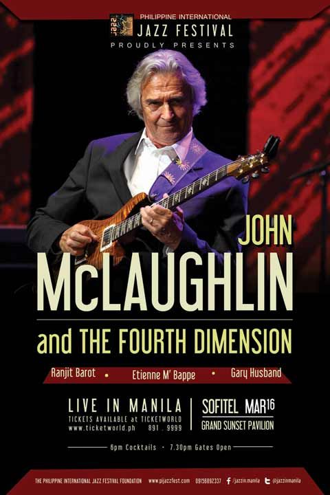 John McLaughlin and The 4th Dimension Live in Manila