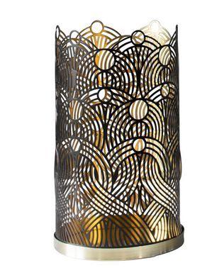 Lunar Lysestake L H17cm, Svart fra Royaldesign. Om denne nettbutikken: http://nettbutikknytt.no/royaldesign/