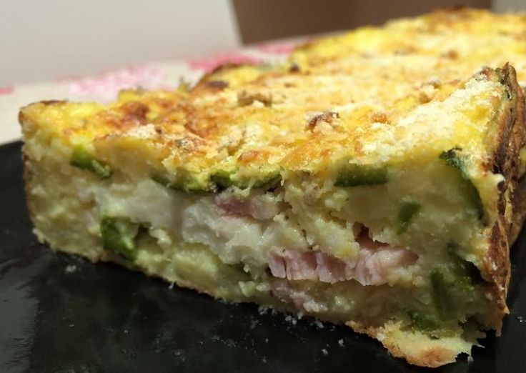 Polpettone di zucchine e patate