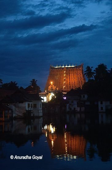 Padmanabhaswamy Temple & reflection