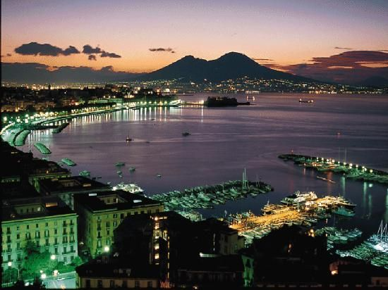Naples, Italy. Where I first saw the blue-green water of the Mediterranean and was first serenaded in an outdoor restaurant.