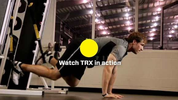 Born in the Navy SEALs, Suspension Training bodyweight exercise develops strength, balance, flexibility and core stability simultaneously.  It requires the use of the TRX Suspension Trainer, a highly portable performance training tool that leverages gravity and the user's body weight to complete 100s of exercise
